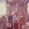 Billie, Jimmy, Barbara - Juarez, Mexico - August 1959