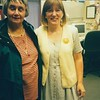 Thelma with Linda, John Muir trauma unit, 1998