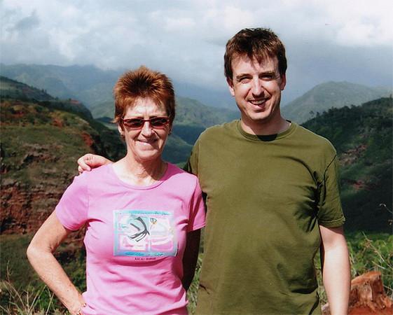 Mom and I in Kauai