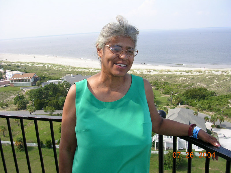 This is my mom she is a unique and special person.  (just like everybody else 80) - smiley )