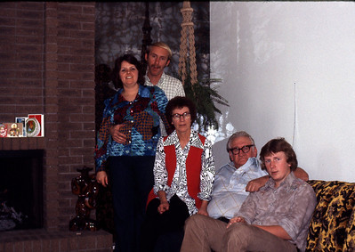 Kathy, Craig, Blanche, Glen, Dave Ovard