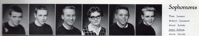 Dobyns-Bennett High School Sophmore - 1960