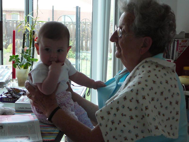 In Uxbridge, Ontario with Abigail.