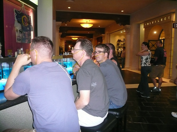 The Guys at the Oxygen Bar