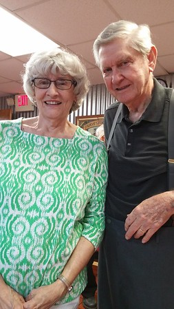 Betty Fink Eury and Jack Vanderburg