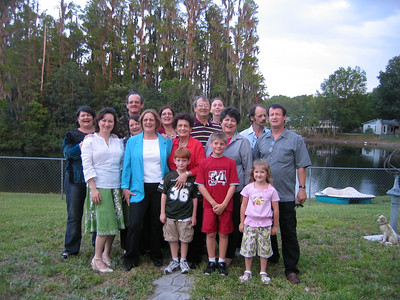 Mom's 80th B-day party