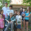 Mom and all of her great grandchildren.