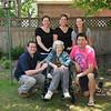 Mom with her grandchildren.