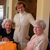Mom, 102 year old Gladys and 95 year old Aimy:  the 3 Musketeers