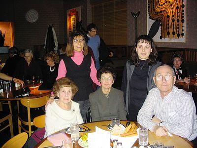 Mom's 90th Birthday Dinner
