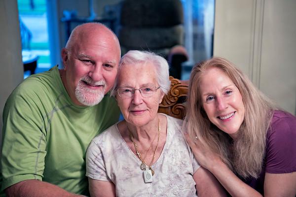 Mom's 93rd Birthday Visit