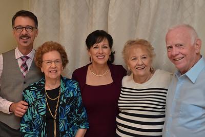 Jerry, Edwina, Donna, Vi, and Charles