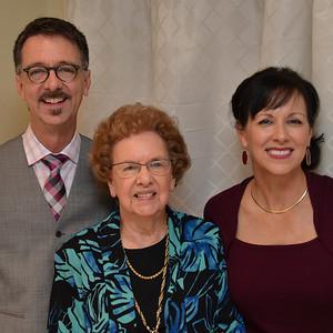 Jerry, Edwina, and Donna