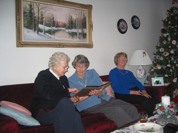 Mom's Christmas Tea, 2006