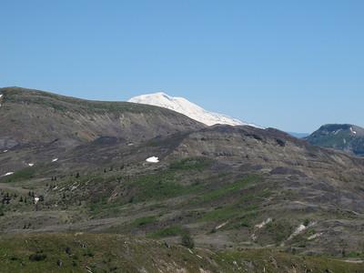 Mom's Mt St. Helens visit