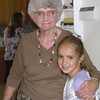 2008-09 @Kylie's baptism - Great grandma Thomas & Kylie