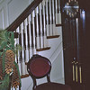 Front Hall, 50 Parker Street. Christmas 1964.