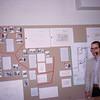 Rob's planning exhibit at Dartmouth 1963.