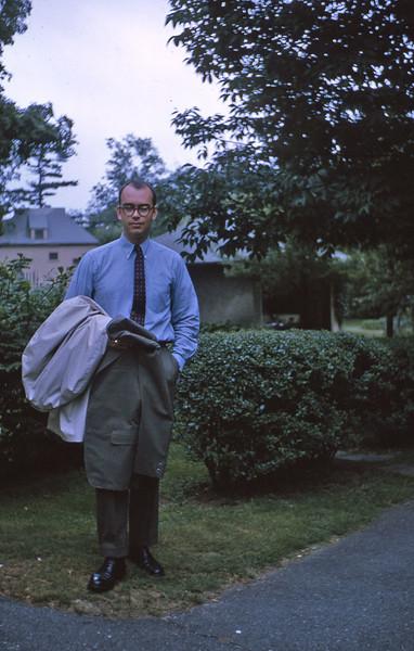 Rob leaves for Australia 1965.