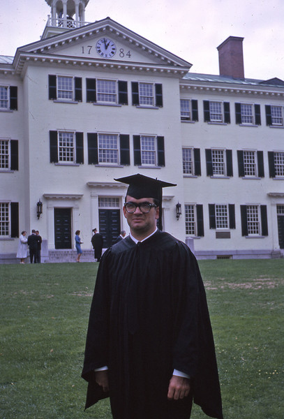 Mark Schunke at Dartmouth Commencement 1963.
