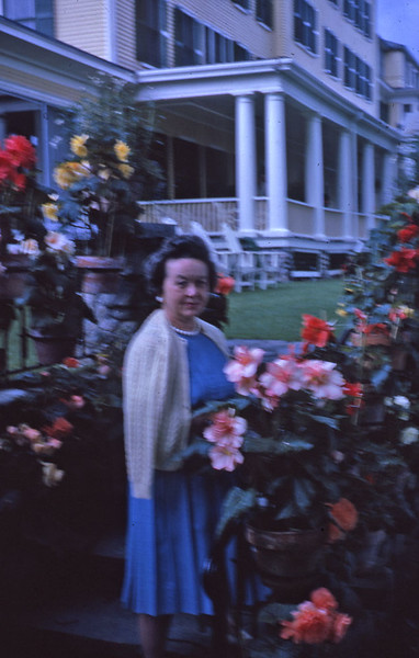Mom at Mountainview 1962.