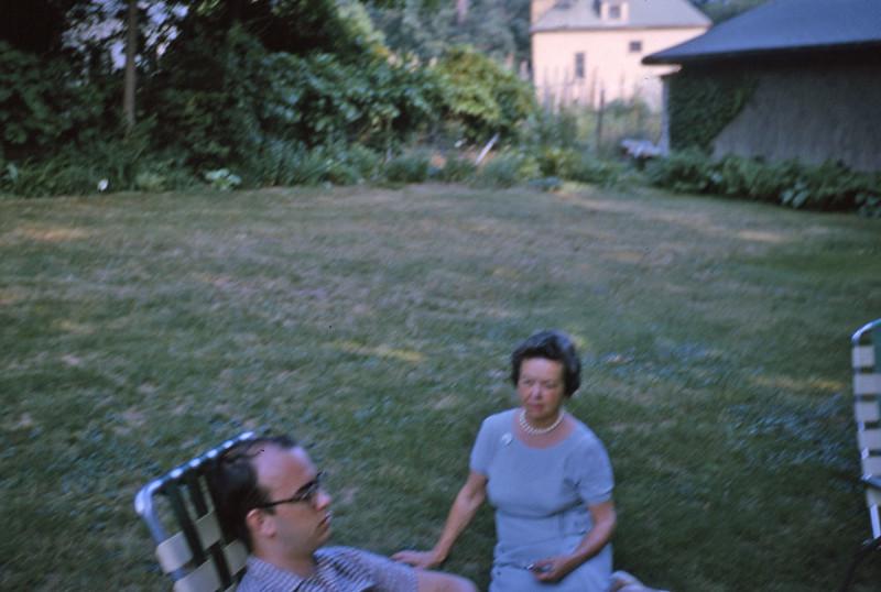 Rob and Mom 1965.