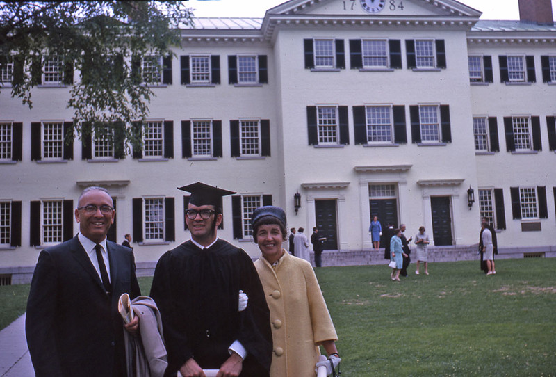The Schunkes at Dartmouth Commencement 1963.