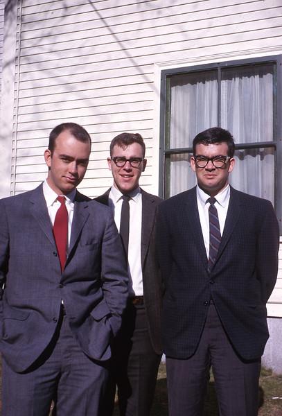 Rob, Ted Rossi, Mark Schunke, Nashua. 1963