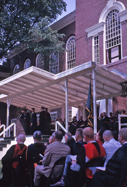 Dartmouth Commencement 1963.