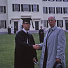 Rob and Dad at Dartmouth Commencement 1963.
