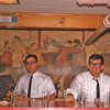 Rob, Ted Rossi and Mark in DKE  bar 1963.