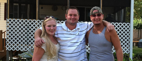 Cliff, Elaina and Troy