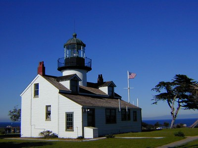 Lighthouse in Monterey