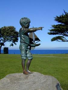 Statue in Park - Monterey