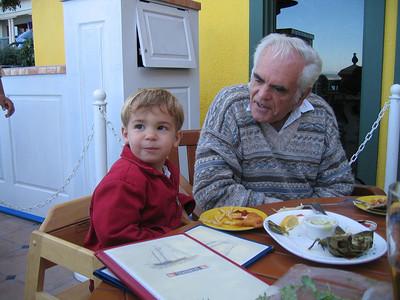 Monterey lunch: 11/12/05