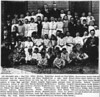 School Photo, Crapo High & Elementary School; Crapo MD; 1911.