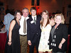 Carole and Eric with Eric's kids at James' confirmation - L-R Ashley, Eric, James, Katlyn and Carole