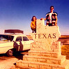 STACEY AND DOUG<br /> Texas/New Mexico State Line - 1971