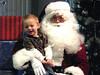 PEYTON WEST AND SANTA - December 2009