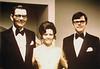 1972 - Leonard, Lyn, Doug at Doug's wedding