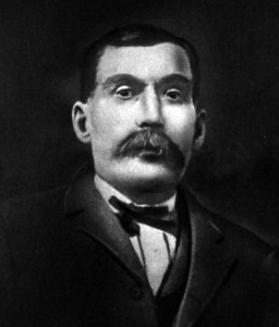 LOUIS SAMUEL COLUMBUS (1837-1911) Photo taken in 1899