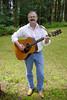 DOUG THE TRAVELING TROUBADOR<br /> Rancho Descansamos, Wells, Vermont - 2004