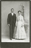 WEDDING PHOTO (FULL-LENGTH)<br /> Alfred Marion and Cora Louise (Barron) Smith - 1900<br /> <br /> I know we have their wedding photo at the beginning of this gallery, but it turns out it was a crop of this one.