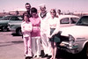 DOUG GOES OFF TO BOOT CAMP<br /> Naval Air Station Dallas, Grand Prairie, Texas - April 12, 1971<br /> <br /> The family and Karen seeing me off on my greatest adventure to date -- at least at that time. Lyn would be in the picture, too, except she's taking the picture.