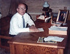 1982 - Wimpy Smith at his desk, Dallas, TX
