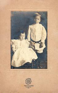 Dora and Noel Barron - Carl W and Maude Barron's children