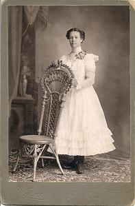 CORA LOUISE BARRON SMITH Photo taken in 1900
