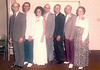 1974 - Marion Thurman, Francis Eugene, Barbara Nan, Winifred Lee 'Wimpy', Alfred Joseph, and Thelma Jo Smith on 50th wedding anniversary