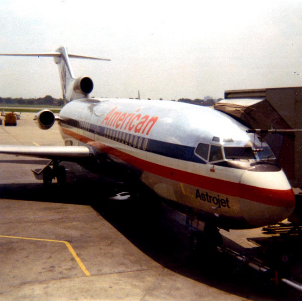 DOUG'S JET TO CALIFORNIA<br /> Love Field, Dallas, Texas - August 1971<br /> <br /> I realize there are no people in view, but I'm in there somewhere, believe me, and I can't wait to set foot in Southern California. That was a trip to remember, let me tell you.