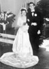 1951 - Annelle Moore and Robert Gerald Cash wedding, Lometa